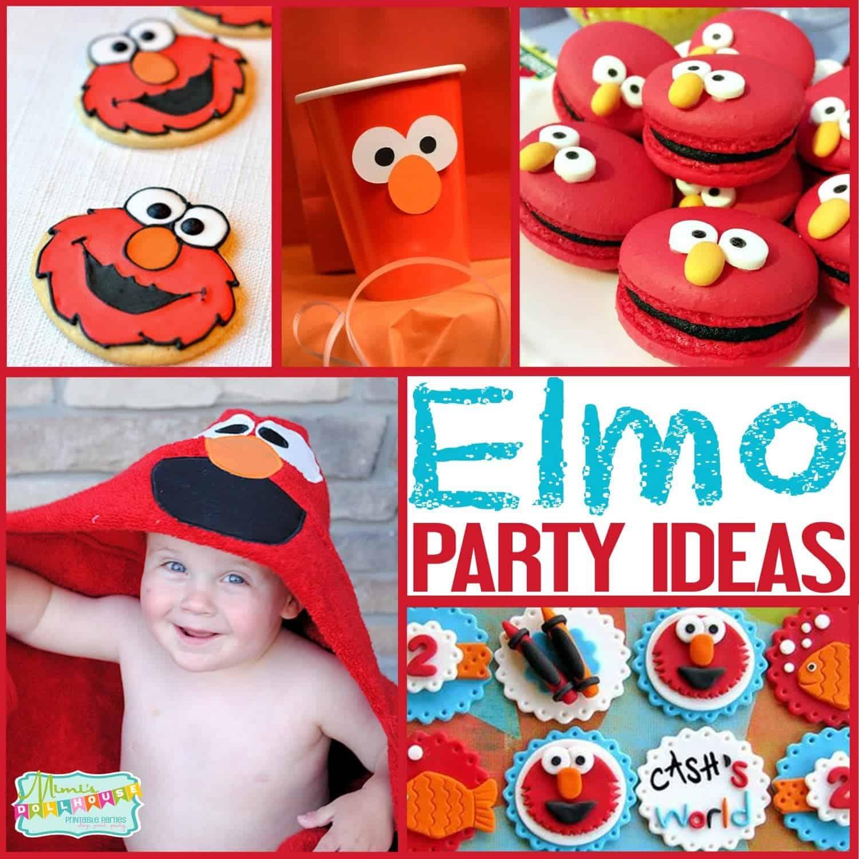 Sesame Street Party: Ideas for an Elmo Party.