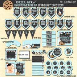 milk cookies display file blue