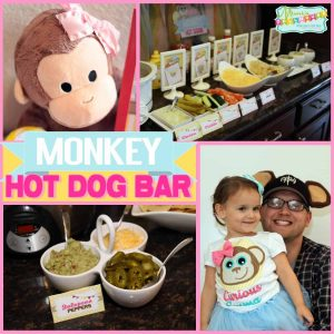 Monkey Party: Hot Dog Bar-Mimi's Dollhouse