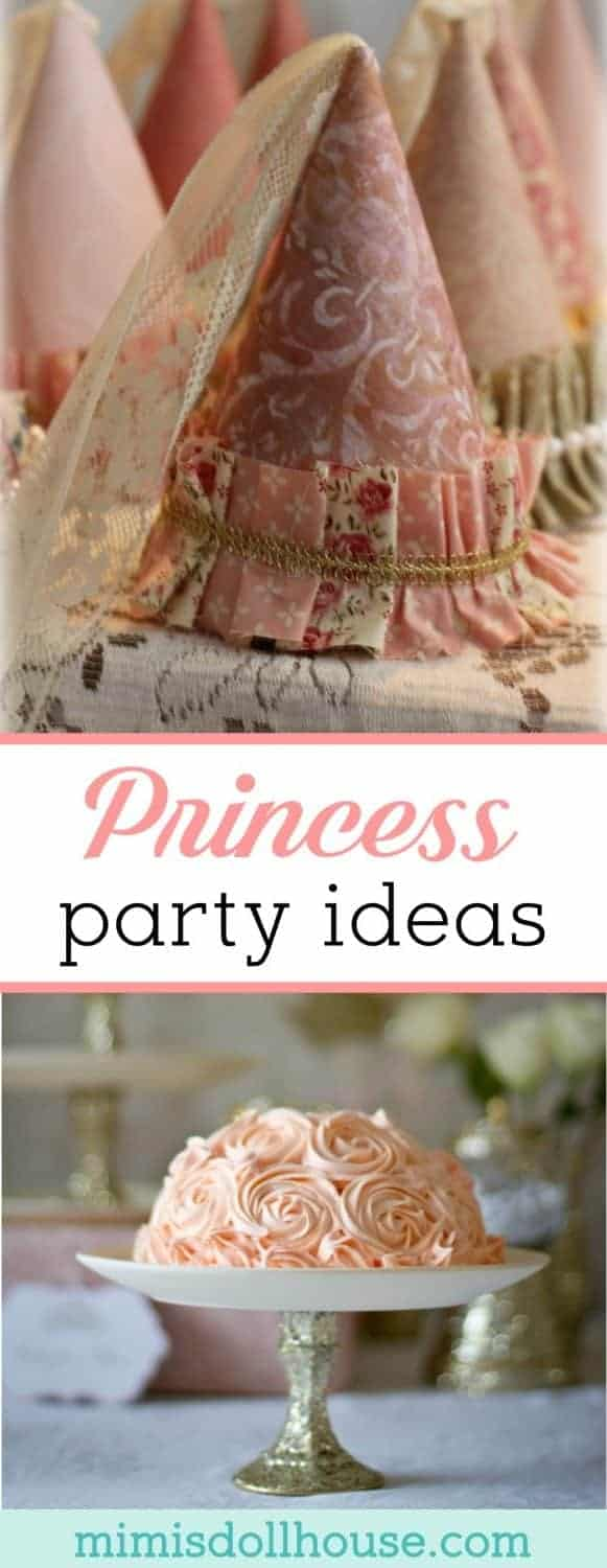 Princess Party: Shabby Chic Princess Party Ideas. Today I'm sharing ideas for throwing a Shabby Chic Princess Party. Be sure to checkout all our princess party ideas and inspiration.