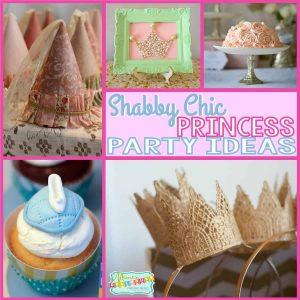 Princess Party: Shabby Chic Princess Party Ideas-Mimi's Dollhouse