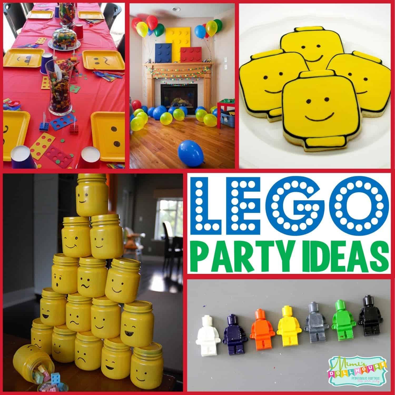 Lego Party Ideas To Build A Lego Party Mimi S Dollhouse