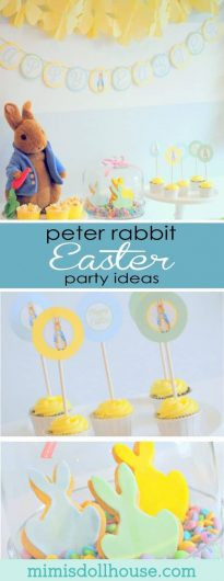 Peter Rabbit Easter Party Ideas
