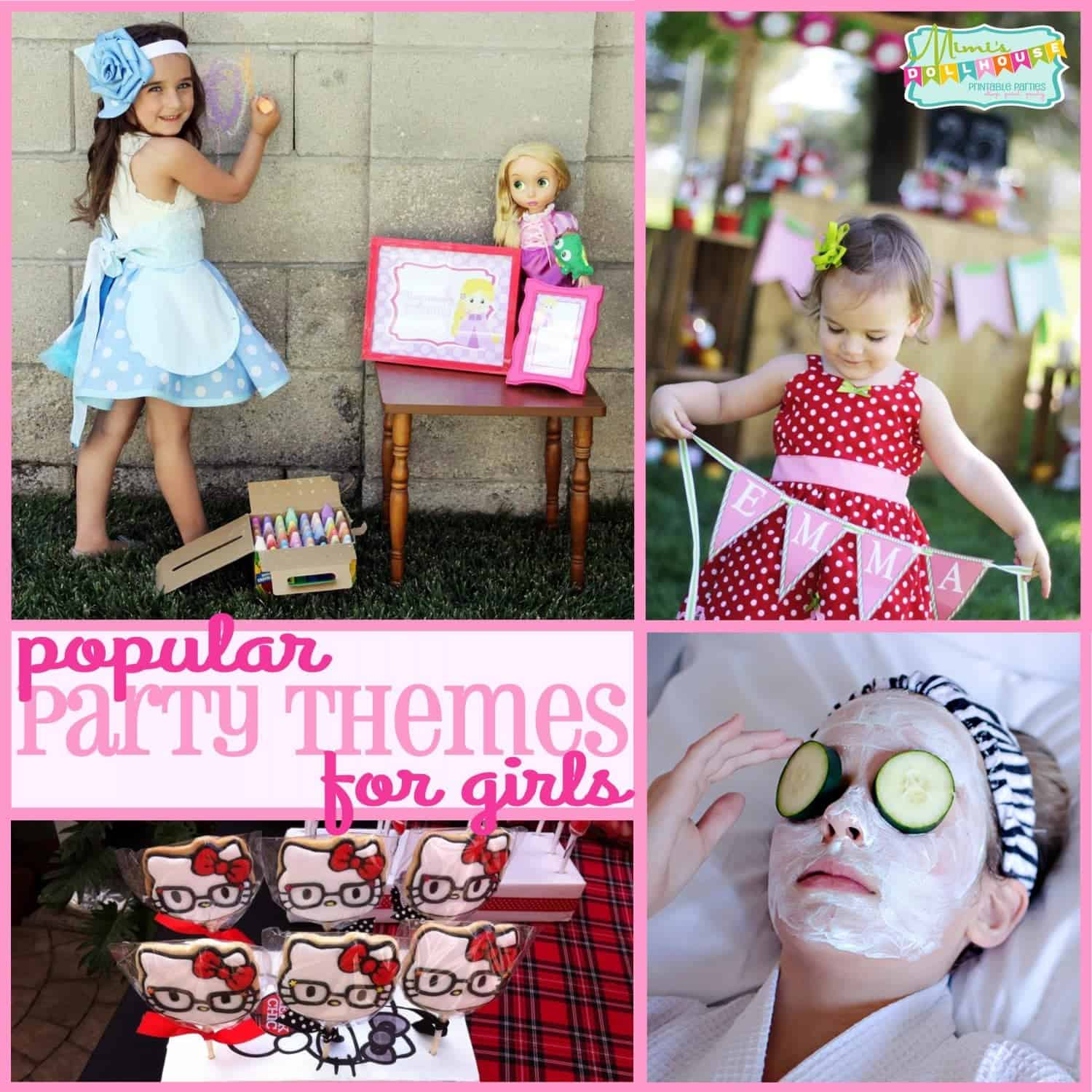 Trends: Popular Party Themes for Girls