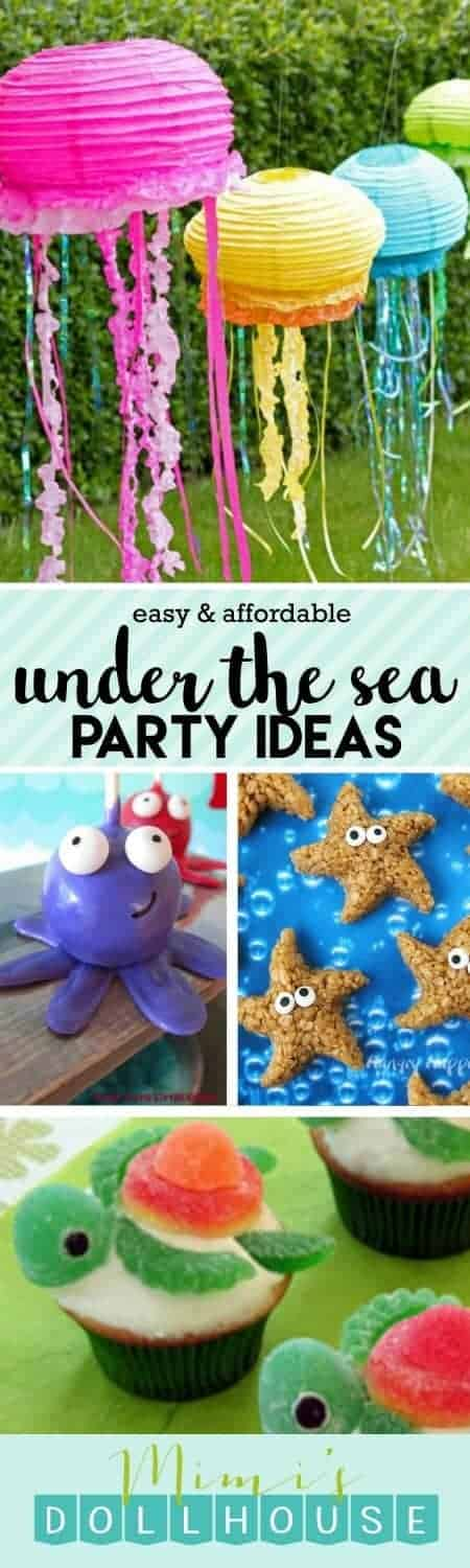 Under the Sea Party: Fishy Fun with Ocean Party Ideas. Dive into the fun with some Under the Sea Party ideas. Be sure to check out all of our Under the Sea Party Inspiration as well as all our Beach Party Ideas.