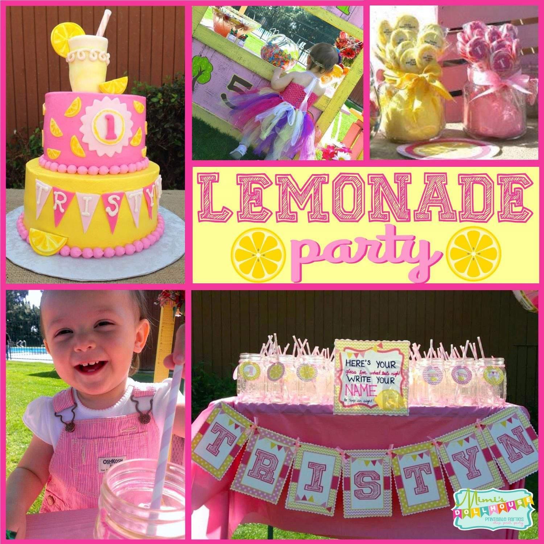 Lemonade Party: Tristyn's Lemonade Stand
