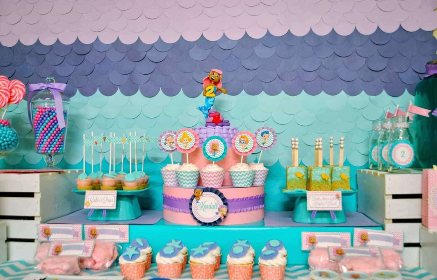 Bubble guppies party kendall 39 s under the sea bash mimi 39 s dollhouse - Bubble guppie birthday ideas ...