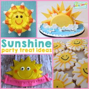 Sunshine Party: Yummy Sunshine Treat Ideas- Mimi's Dollhouse