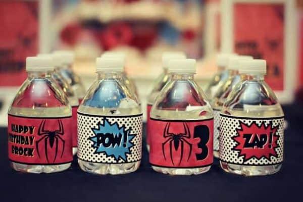 spider water