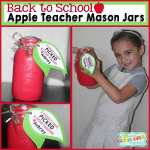 Apple Mason Jar