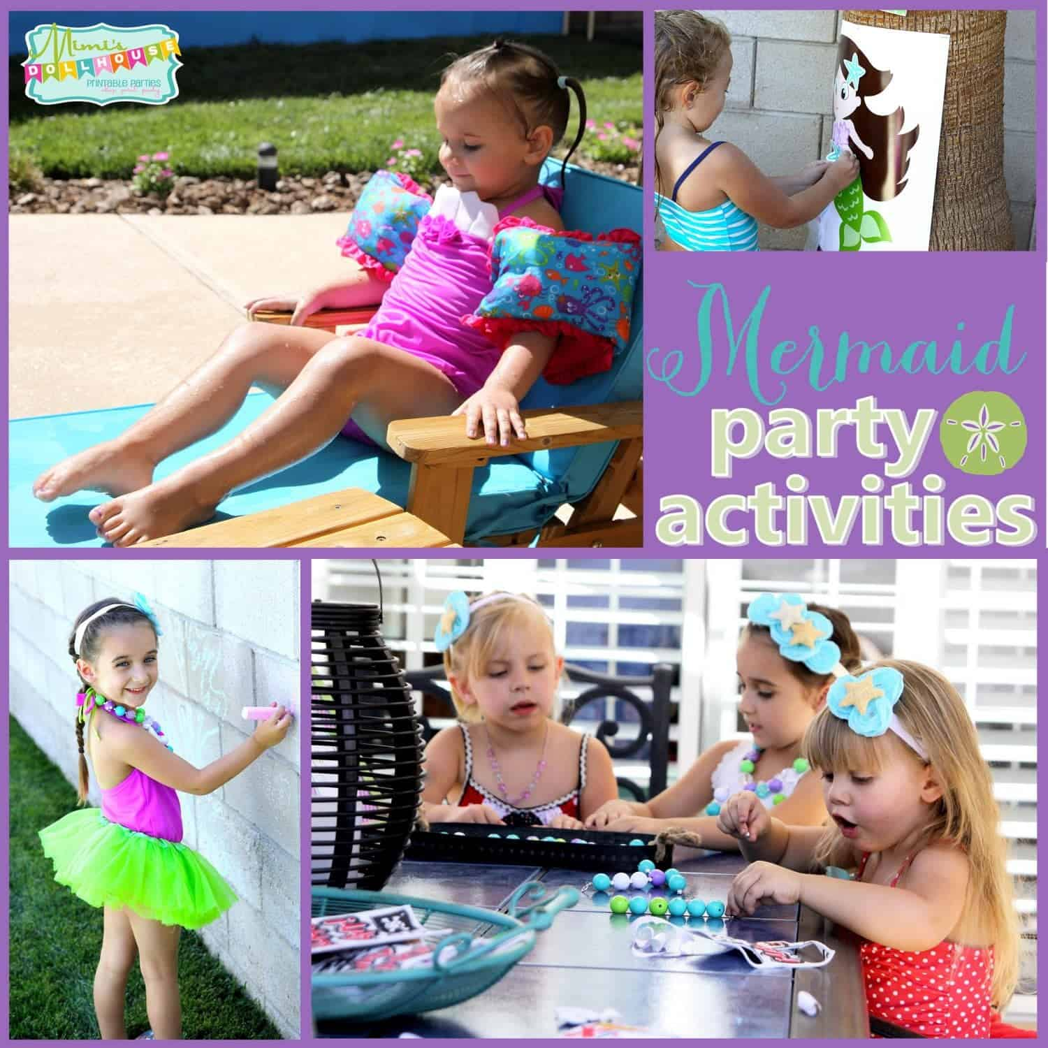 Mermaid Party: Under the Sea Mermaid Party Activities