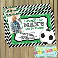 Soccer Invite Display