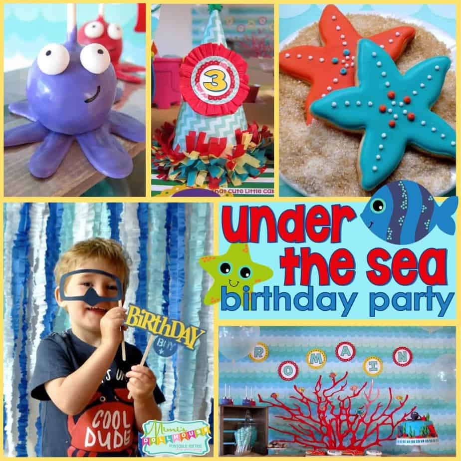 Under the Sea Party: Romain's Ocean Birthday