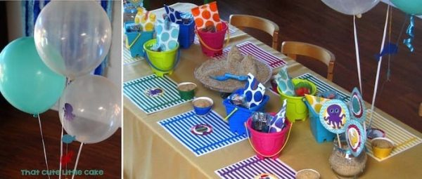 Under the sea TCLC - kids table