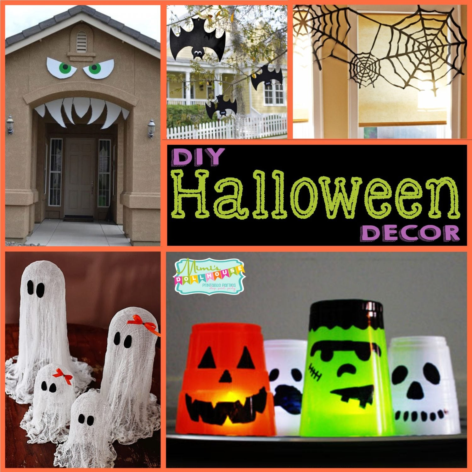 Halloween party decoration ideas diy Diy halloween party decorations