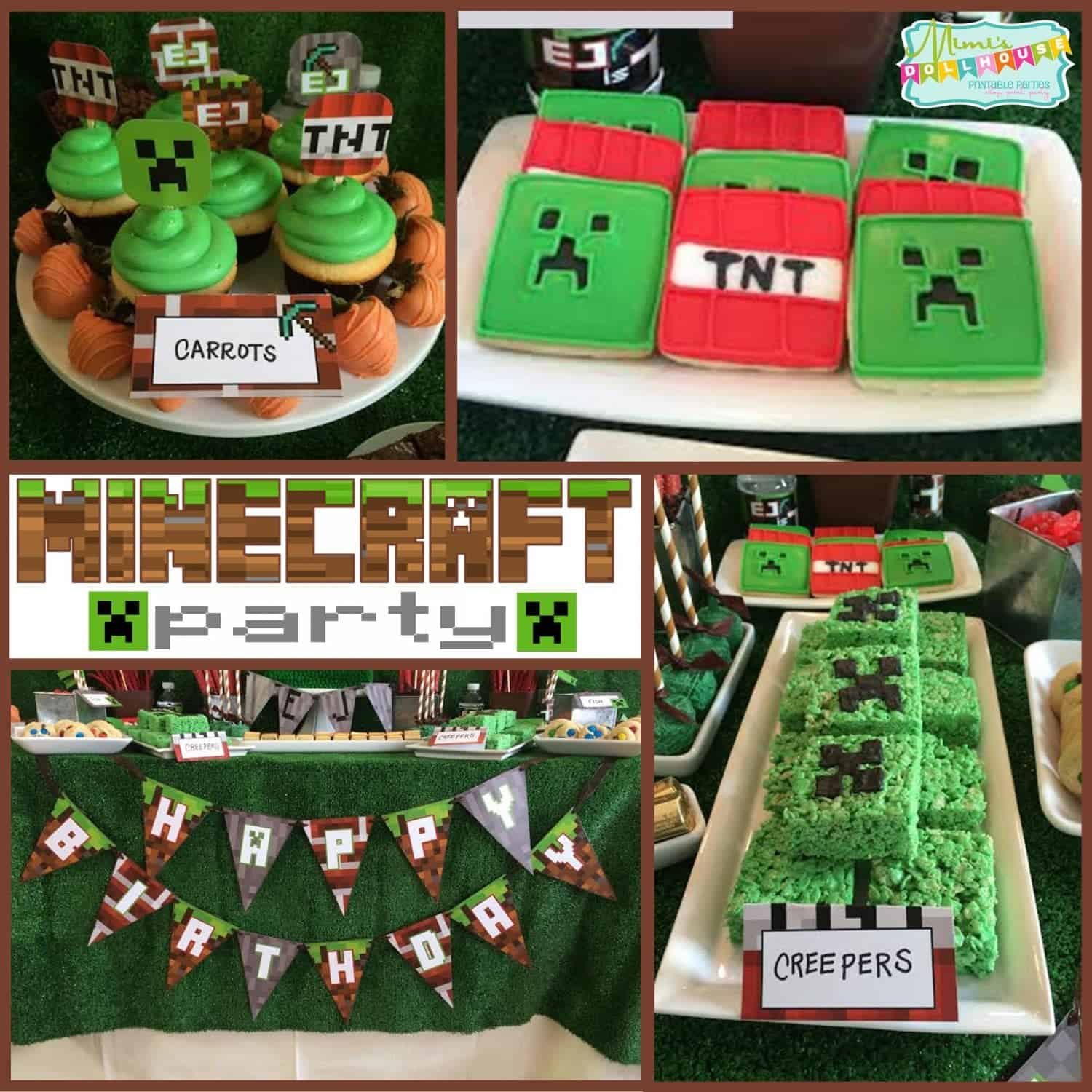 Minecraft Party: Let's build a birthday!