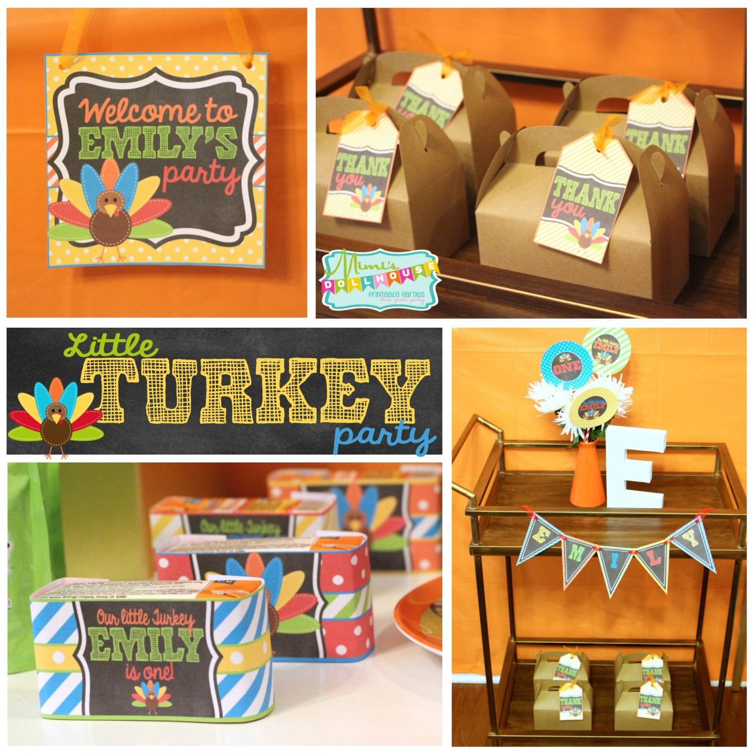 Thanksgiving Party: Emily's Little Turkey Party