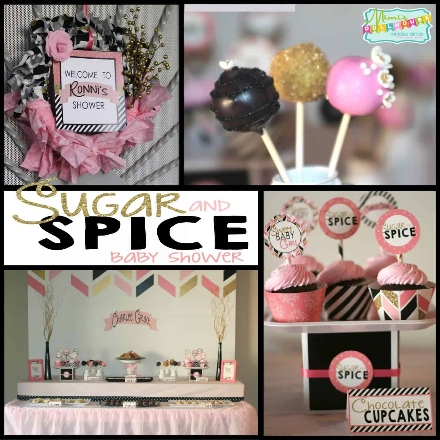 Sugar and Spice Baby Shower: it's what Charlee Grace is made of…
