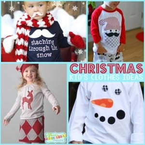Christmas Kids Clothes Pic