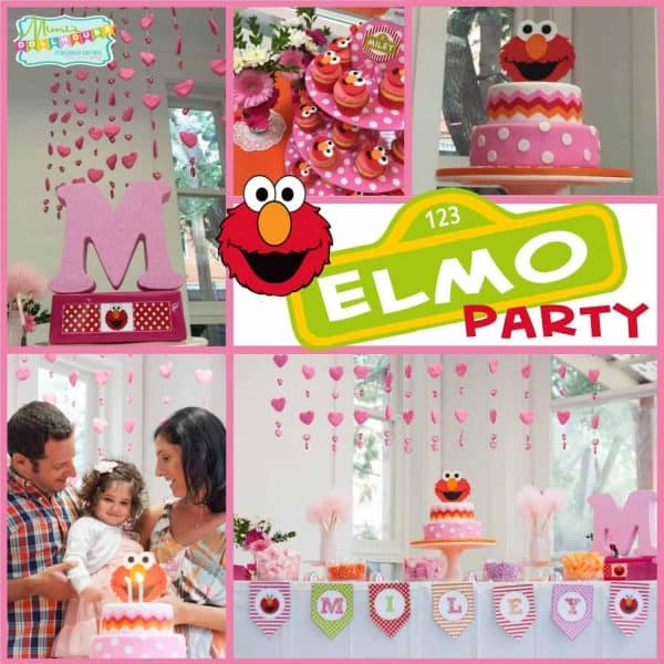 Elmo Party Pic