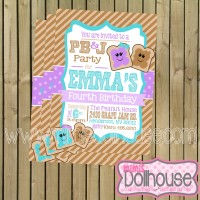 PB&J Invitation Display File-blue