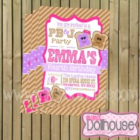 PB&J Invitation Display File-pink