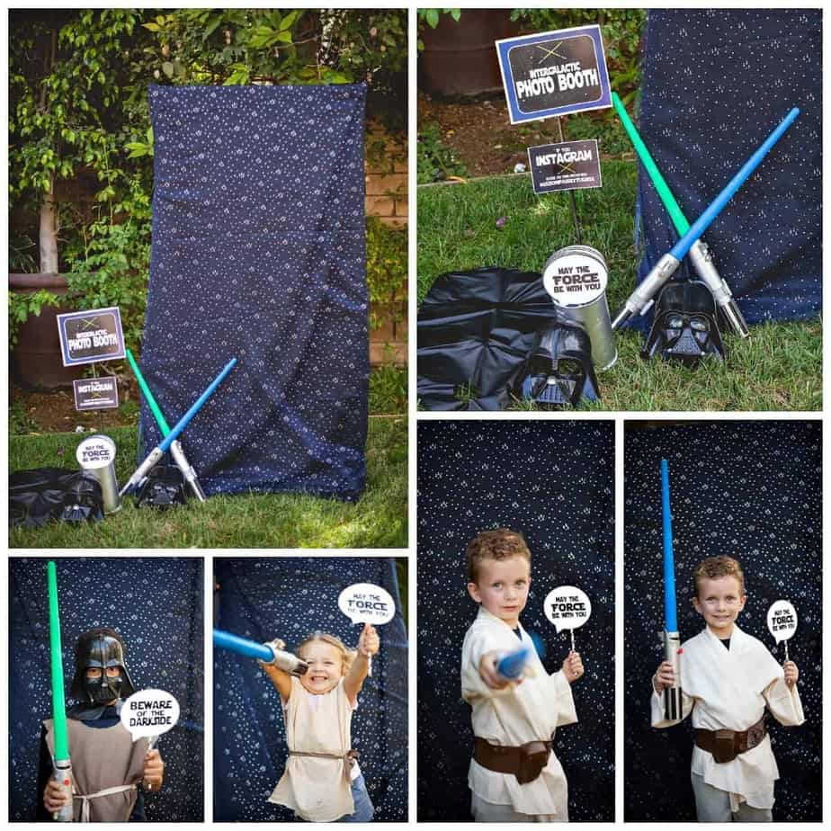 May The Fourth Be With You Party Supplies: Star Wars Party: Jedi Jaxon's Star Wars 4th Birthday Party