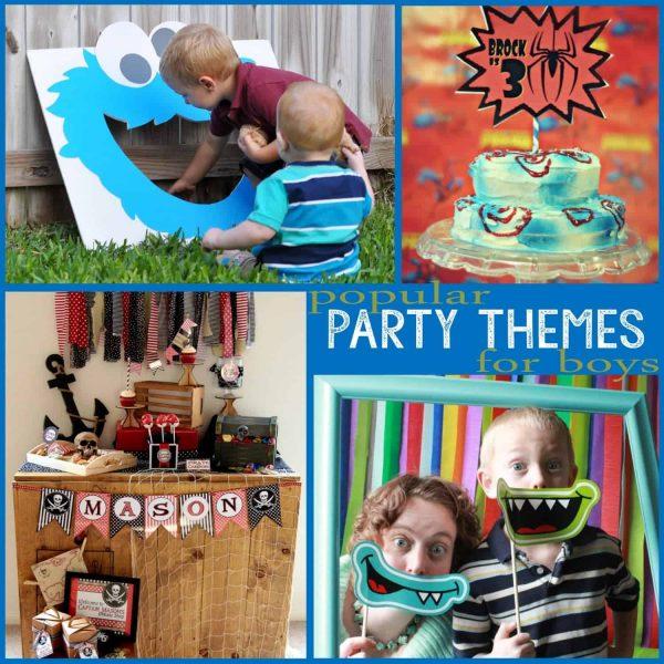 Popular themes for Boys 2