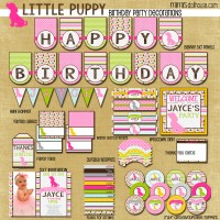 Puppy display file-pink