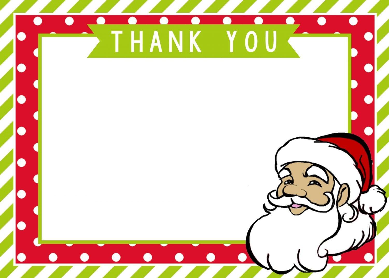 santa thank you cards - Santa Cards