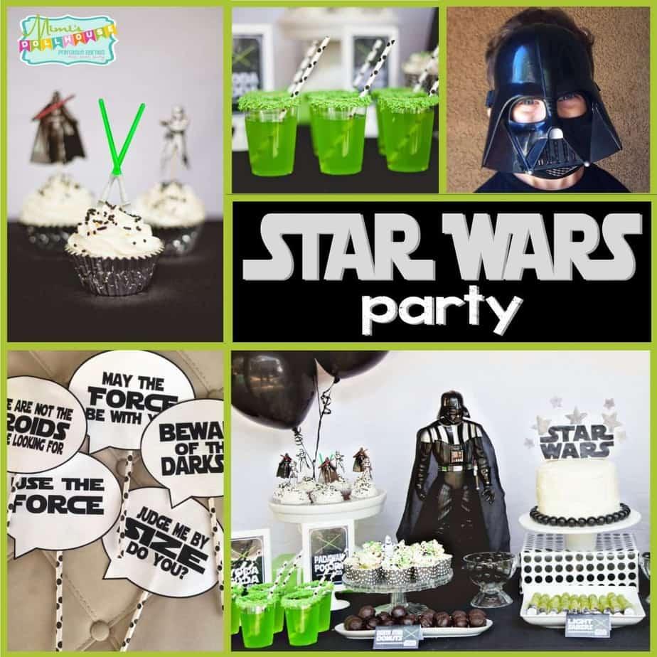 Star Wars Party: Jedi Jaxon's Star Wars 4th Birthday Party