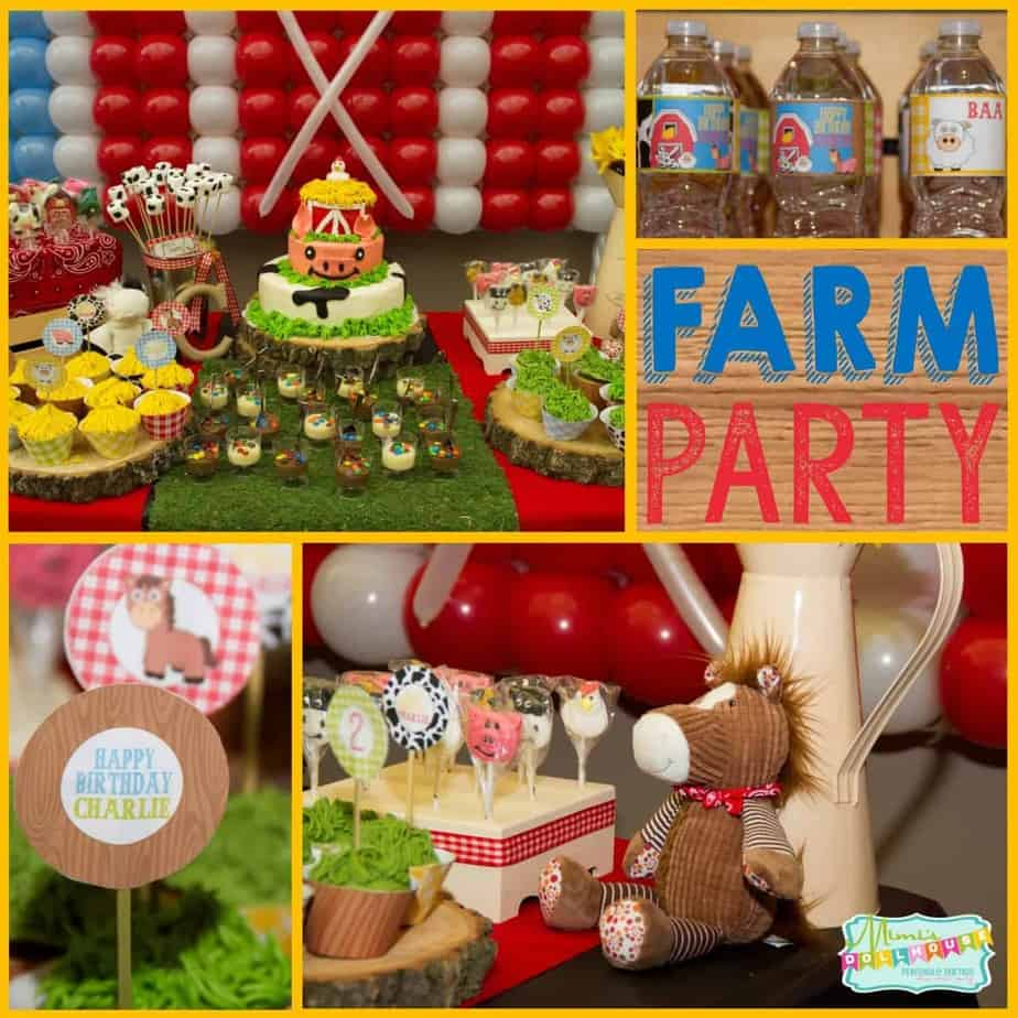 Farm Party: It's a Barnyard Bash for little Charlie