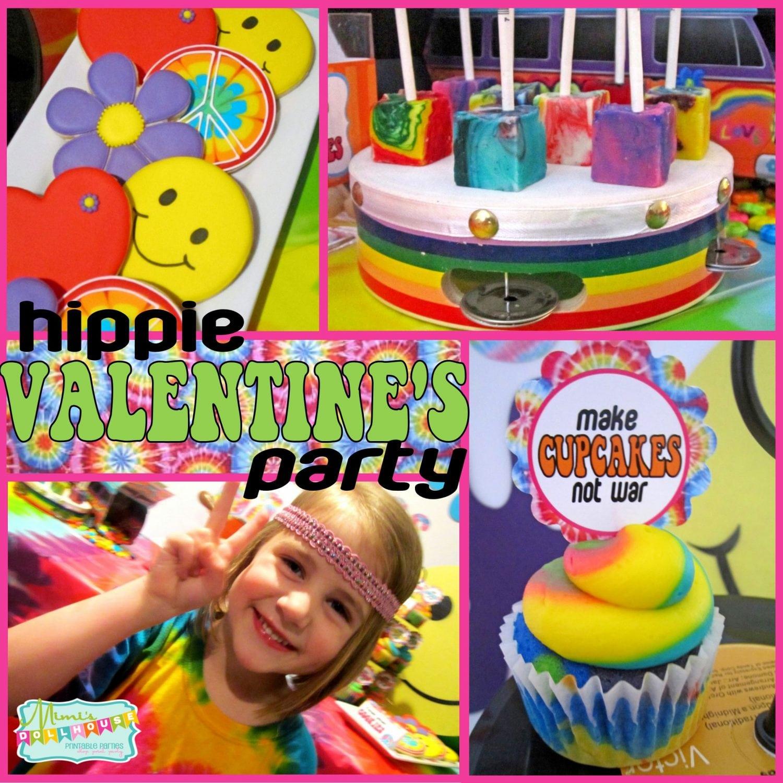 Valentine's Day: Hippie Valentine's Day Party