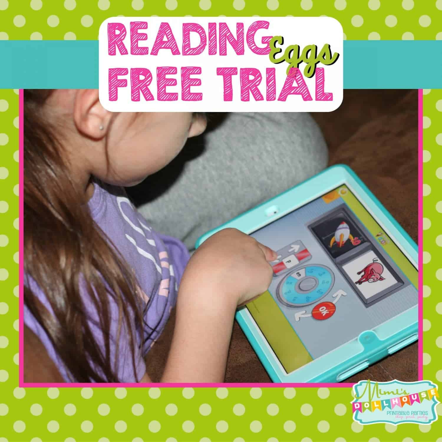 Learning Product: Reading Eggs with FREE trial offer