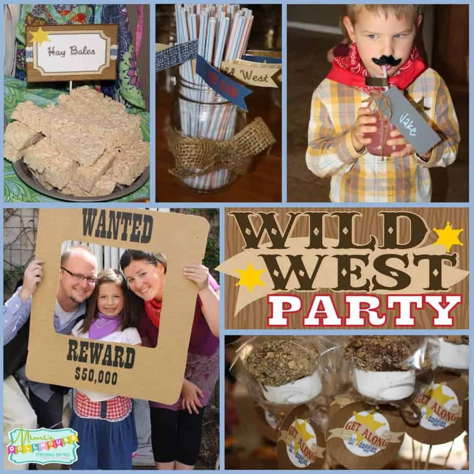 Cowgirl Party: Sheriff Chevy's Wild West