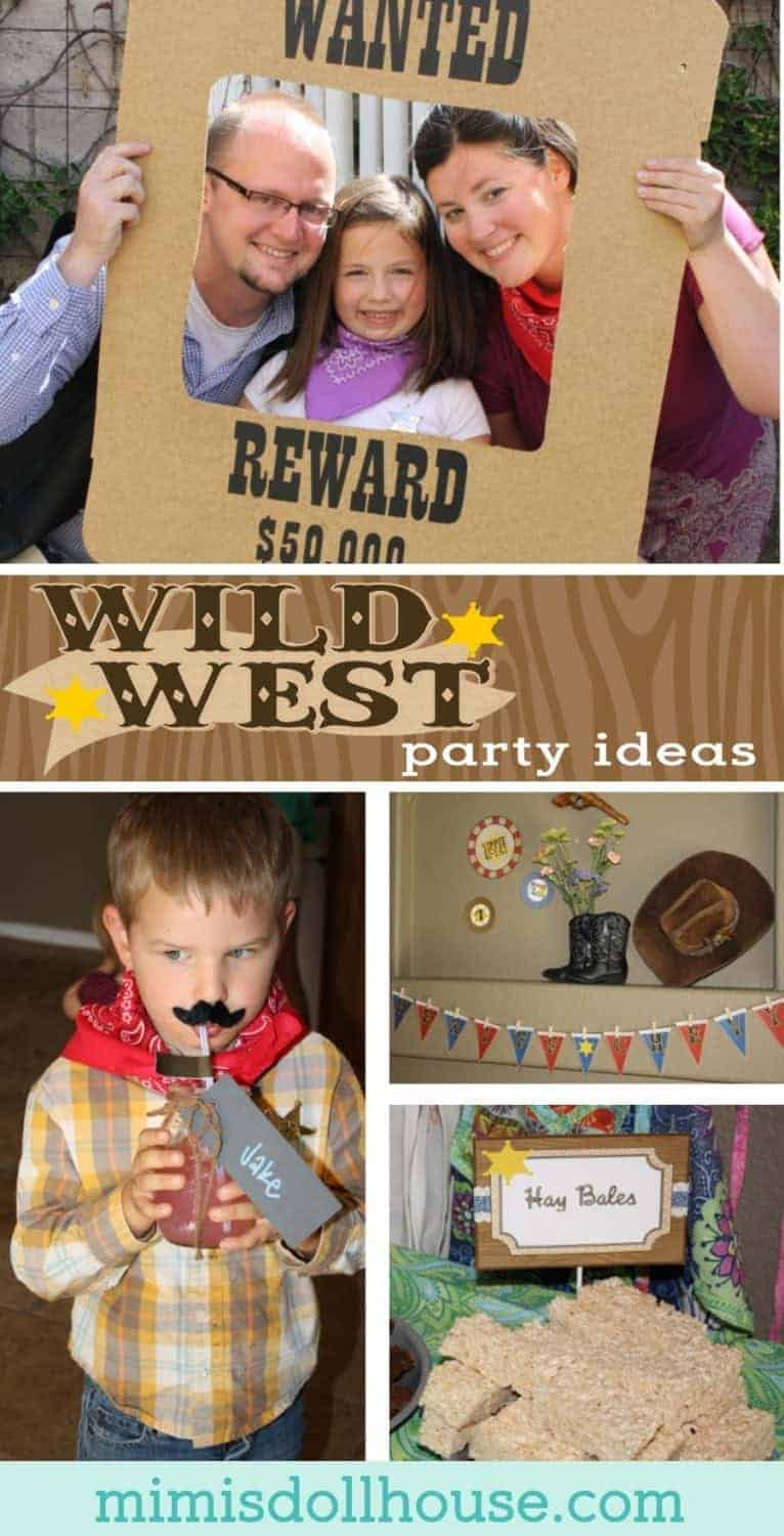 Cowgirl Party: Sheriff Chevy's Wild West Party. Yee-haw! Looking for some wild west party ideas? Today I'm sharing a cute Wild West party full of cowgirl charm. Looking for cowboy themed desserts? Be sure to check out these cowboy party ideas, thisCowboy Party and all our cowboy inspiration and ideas!