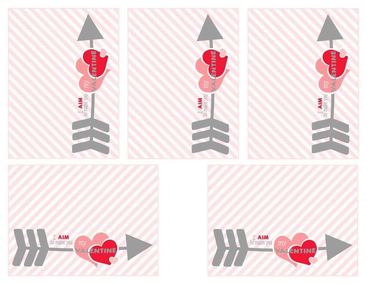 Schön Arrow Valentines Arrow Valentines Red