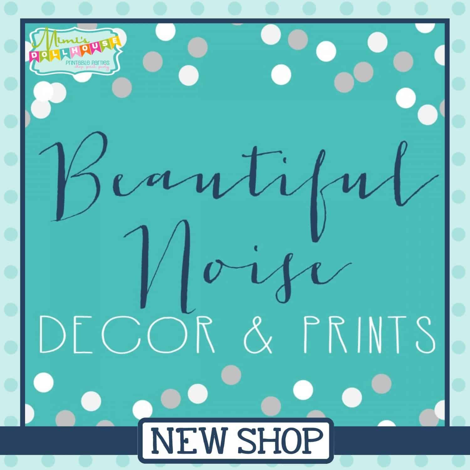 New Shop: Beautiful Noise Prints