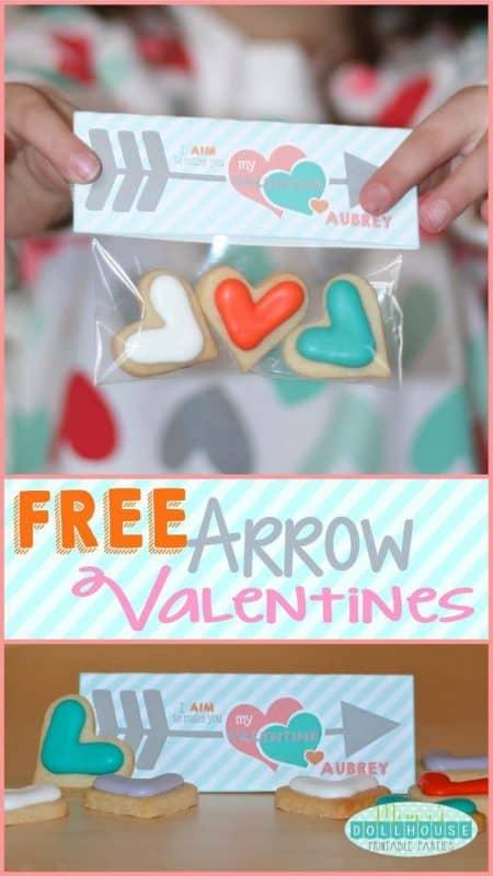 FREE Printable Valentine's Day Valentines