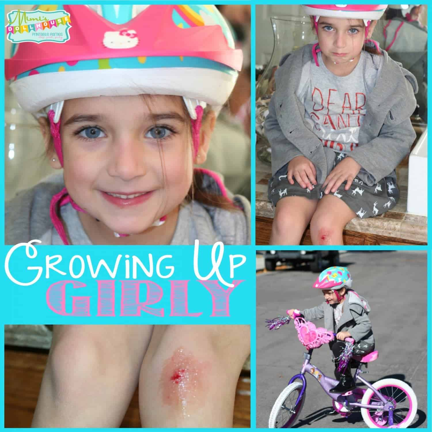 Parenting: Growing up Girly and Skinned Knees