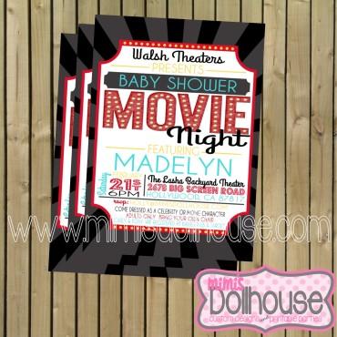 Movie Night Invite Pic