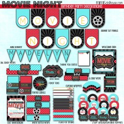 Movie Night display file