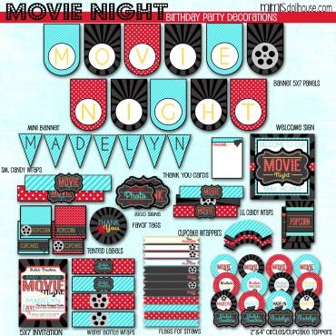 Movie Night display file
