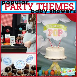 Popular themes for Baby showers 1