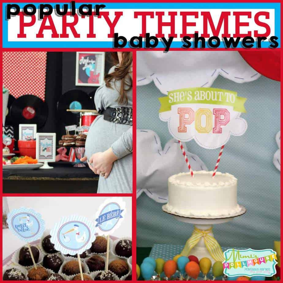 Trends: Popular Themes for Baby Showers (Part 1)