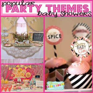 Popular themes for Baby showers 2