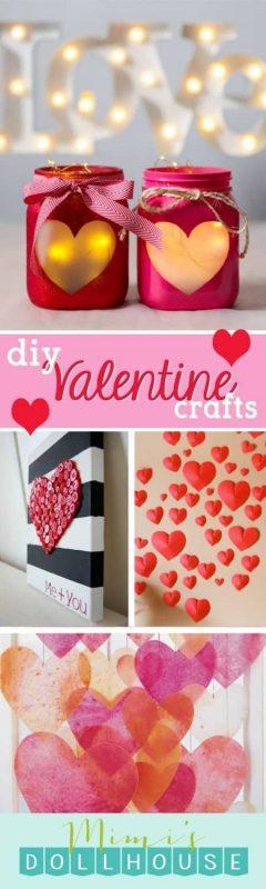 Valentine\'s Day: Cute Valentine Crafts | Mimi\'s Dollhouse