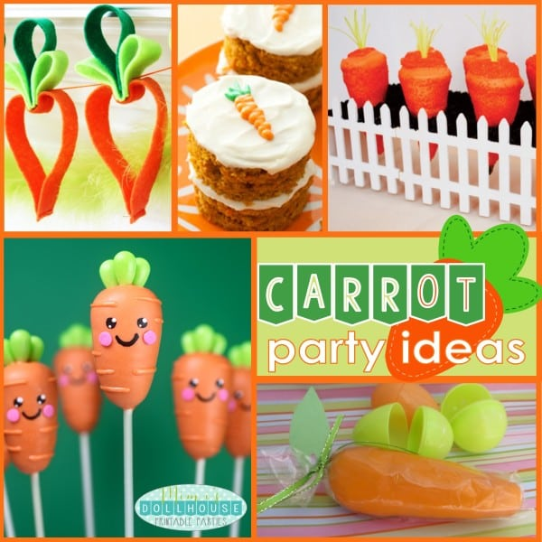 Carrot Party Ideas Pic