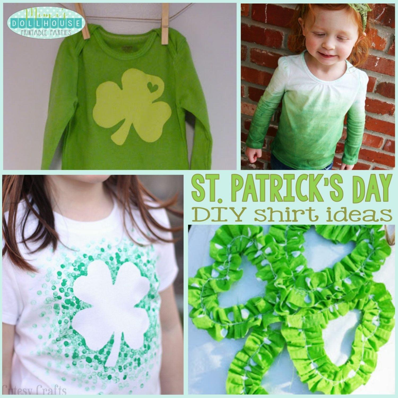 St. Patrick's Day: DIY Shirts