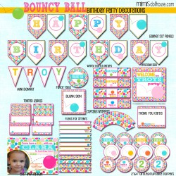 bouncy ball display file girl